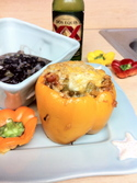 Chorizo Stuffed Bell Peppers photo by Bailey